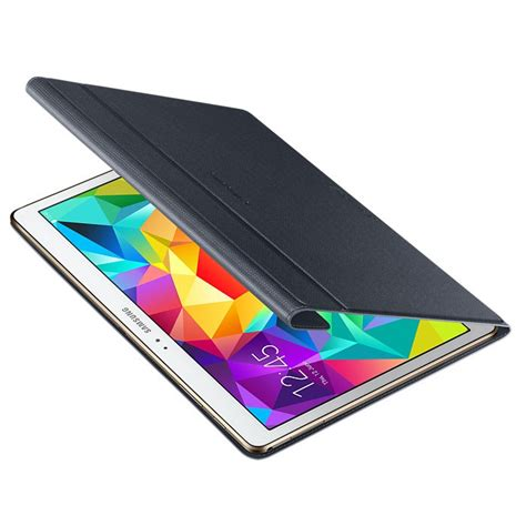Samsung Galaxy 2 Casing Book Flip Cover Kasing flip cover book leather for samsung galaxy tab s t800 t805 10 5 inch black