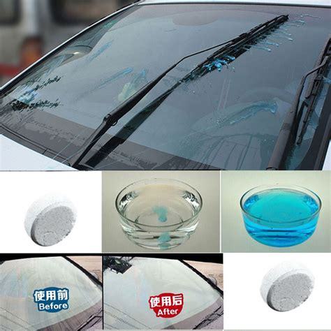 Glass Cleaning Wiper White sabun pembersih wiper kaca mobil glass cleaner 6pcs