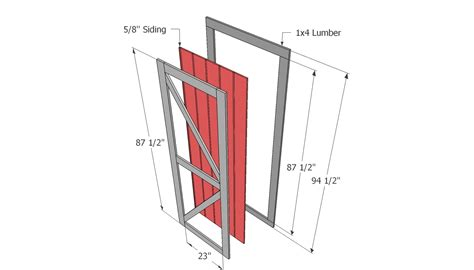 shed door plans shed doors plans building a storage shed 7 simple steps