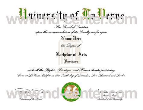 Of La Verne Mba Statement Of Purpose by Details Of Transcript Guide