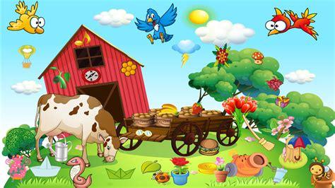 Puzzle Kecil Sapi gratis peternakan kecil yang bahagia gratis