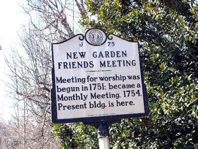 New Garden Friends Meeting by New Garden Friends Meeting Carolina Historical