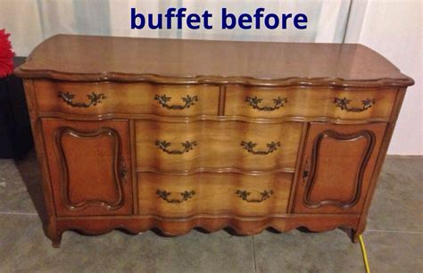 How To Turn A Dresser Into A Buffet Table by Turning A Buffet Into A Bathroom Vanity Hometalk