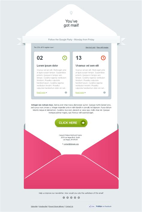 design an email template 17 tips to design email templates that are inbox optimized