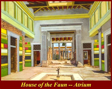 House Of The Faun by 295 Architecture Style Wall Painting C 200