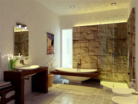 chambre de bain d馗oration decoration maison style asiatique