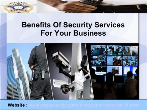 benefits of security services for your business