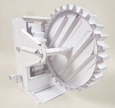 How To Make Paper Gears - 1000 images about karakuri kinetic on