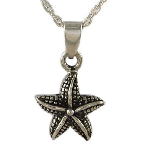 starfish cremation urn necklace
