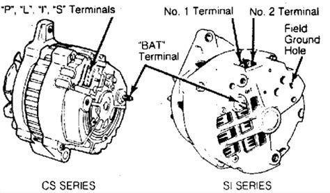delco remy cs alternator wiring diagram get free image