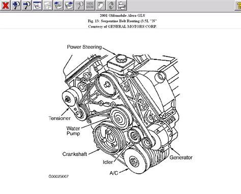 2003 oldsmobile alero engine diagram oldsmobile belt diagram free wiring