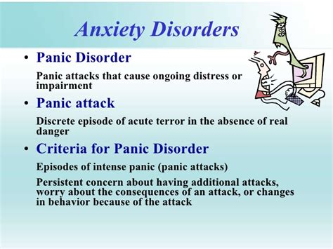 7 With Anxiety Disorders by Chapter 4 Anxiety Disorders