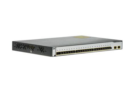 Switch Cisco 3750 cisco switch catalyst 3750 24 port ws c3750 24fs s