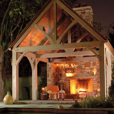 outdoor room with fireplace outdoor fireplace outdoors