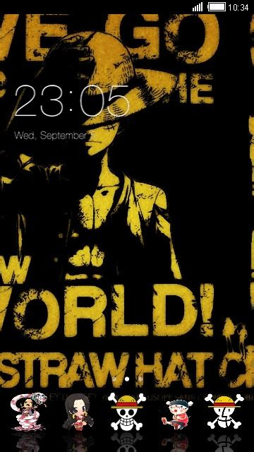 themes android one piece download one piece theme for your android phone clauncher