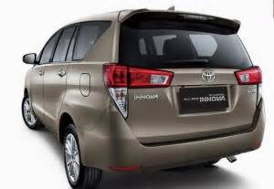 Toyota Innova Prize New Toyota Innova 2016 Price Specifications Interior