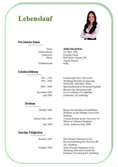 Lebenslauf Vorlage Rechtsanwalt Kostenlose Lebenslauf Vorlagen Office Lernen