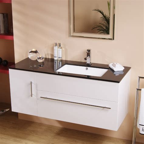 Contemporary Bathroom Vanity Units 120 Wall Mounted Vanity Unit