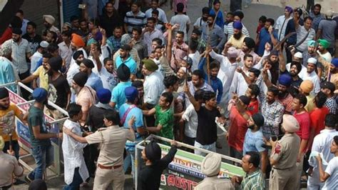 They Were Here Before The Clash phagwara clash 5 dalit activists arrested