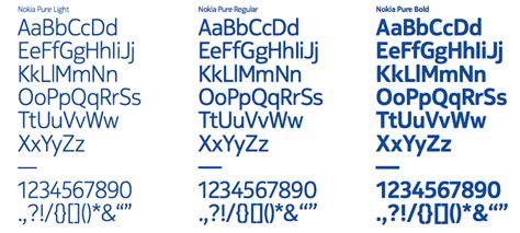 grand design neue font nokia pure typeface