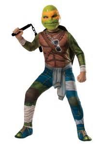 turtle halloween costumes ninja turtle movie child michelangelo costume