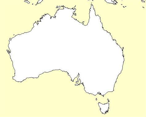 printable australia map maps