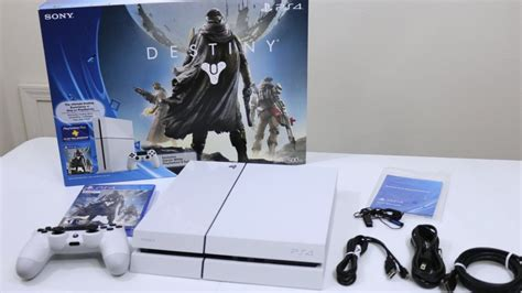 Destiny Ps4 Giveaway - destiny glacier white ps4 bundle unboxing ps4 xbox one giveaway at 25k subscribers
