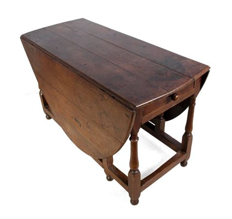 Antique Dining Room Tables With Leaves Antique Oak Drop Leaf Table Circa 1760 For Sale At 1stdibs