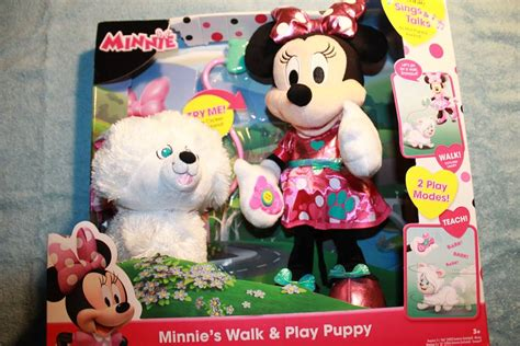 minnie mouse walk and play puppy 2017 top toys your will holidaygiftideas part3 zurutoys