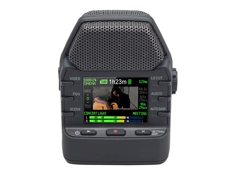 with zoom zoom q2n handy recorder zoom
