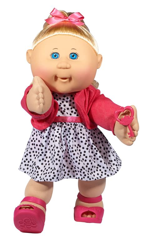hairstyles for cabbage patck kids cabbage patch kids 14 quot baby doll blonde hair blue eyes