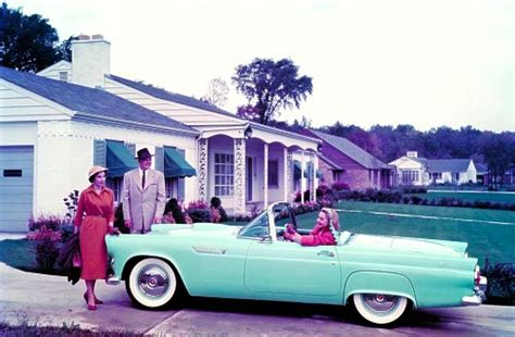Compact House by 1955 Ford Thunderbird Production Numbers Specifications