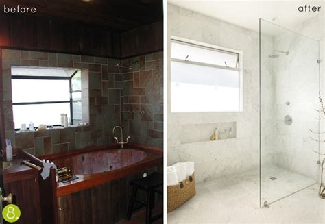 before after bathroom makeovers before after 10 inspiring bathroom makeovers 187 curbly
