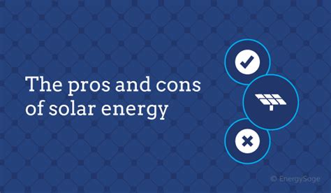 10 Pros And Cons Of Using Tons For Your Period by 10 Pros And Cons Of Solar Energy In 2018 Energysage