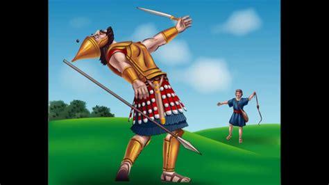 imagenes biblicas de david y goliat david y goliat historia biblica youtube