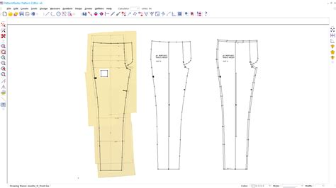 pattern master meaning the road to pants part 2 line of selvage