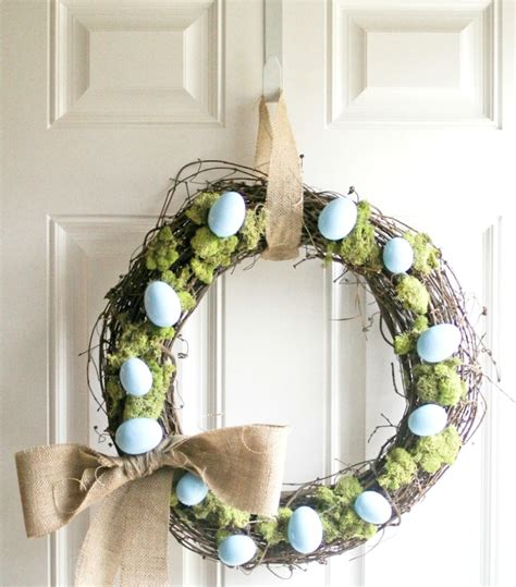 easter wreaths for front door 10 wreaths to decorate your front door for easter