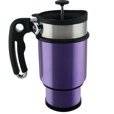 design travel mug double shot french press travel mug