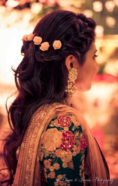 Hairstyle Accessories India by The 25 Best Indian Bridal Hairstyles Ideas On