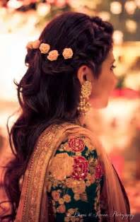indian bridal hairstyle gallery best 25 mehndi hairstyles ideas on