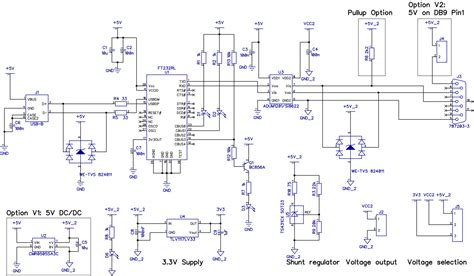 rs 232 wire diagram