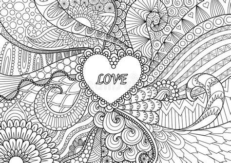 libro sui fiori cuore sui fiori per i libri da colorare per la carta dei