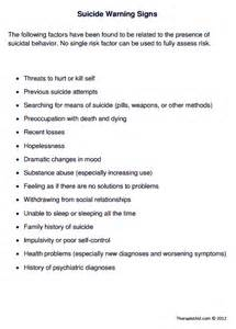 Income Verification Letter suicide warning signs worksheet therapist aid