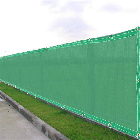 Sichtschutz Stoff Zaun by 50ft Privacy Fence Mesh Screen Windscreen Fabric For 4ft