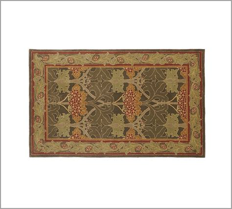 New Pottery Barn Handmade Persian Cecil Area Rug 5x8 Pottery Barn Area Rugs