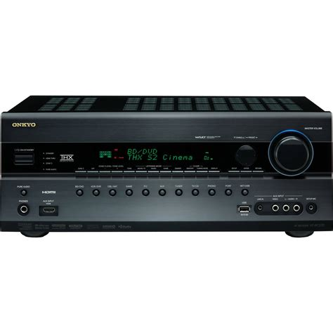 Home Theater Receiver onkyo ht rc270 av home theater receiver ht rc270 b h photo