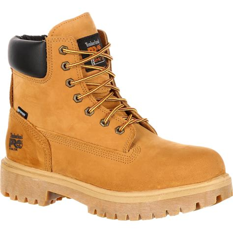 work boots for timberland timberland pro direct attach steel toe waterproof 200g