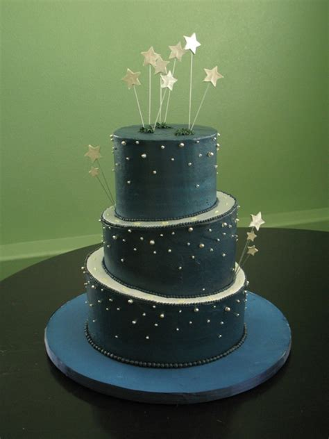 night of cake and night sky wedding cakecentral com