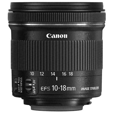 Canon Ef S 10 18mm F4 5 5 6 Is Stm canon ef s 10 18mm f 4 5 5 6 is stm objectif appareil
