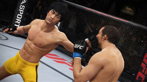 bruce unlockable fighter in ea sports ufc bso